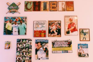 Chiefs signs on a wall.