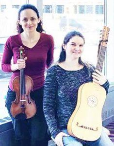 "Sara Silva and Liamna Pestana performed together in Symphoria's ""Healing Harmonies"" program at Upstate Cancer Center (2020)."