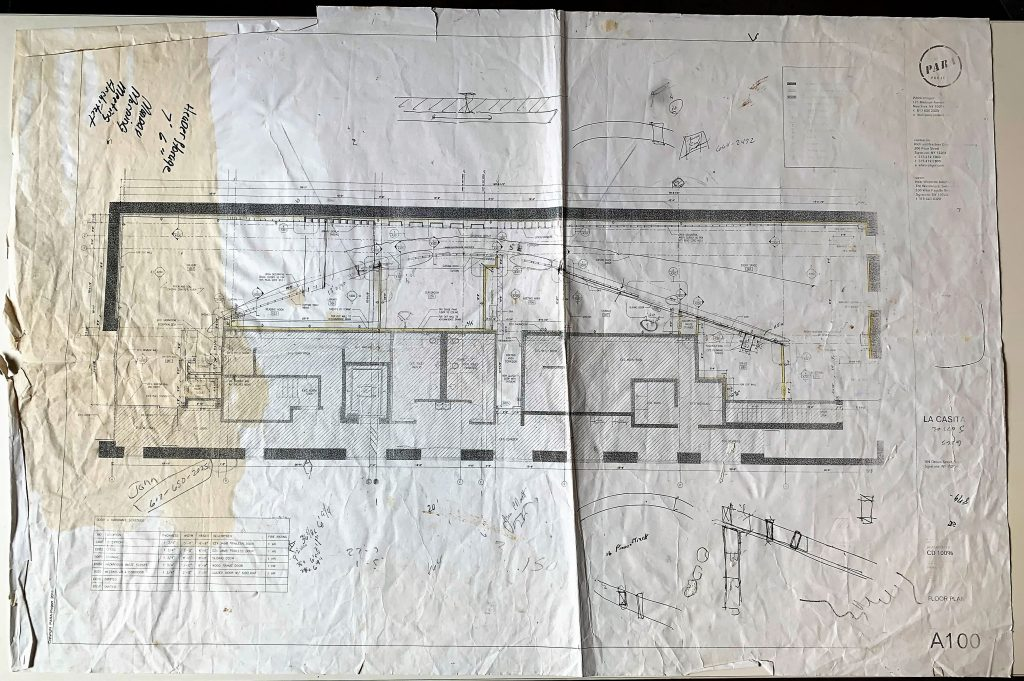 La Casita Blueprints